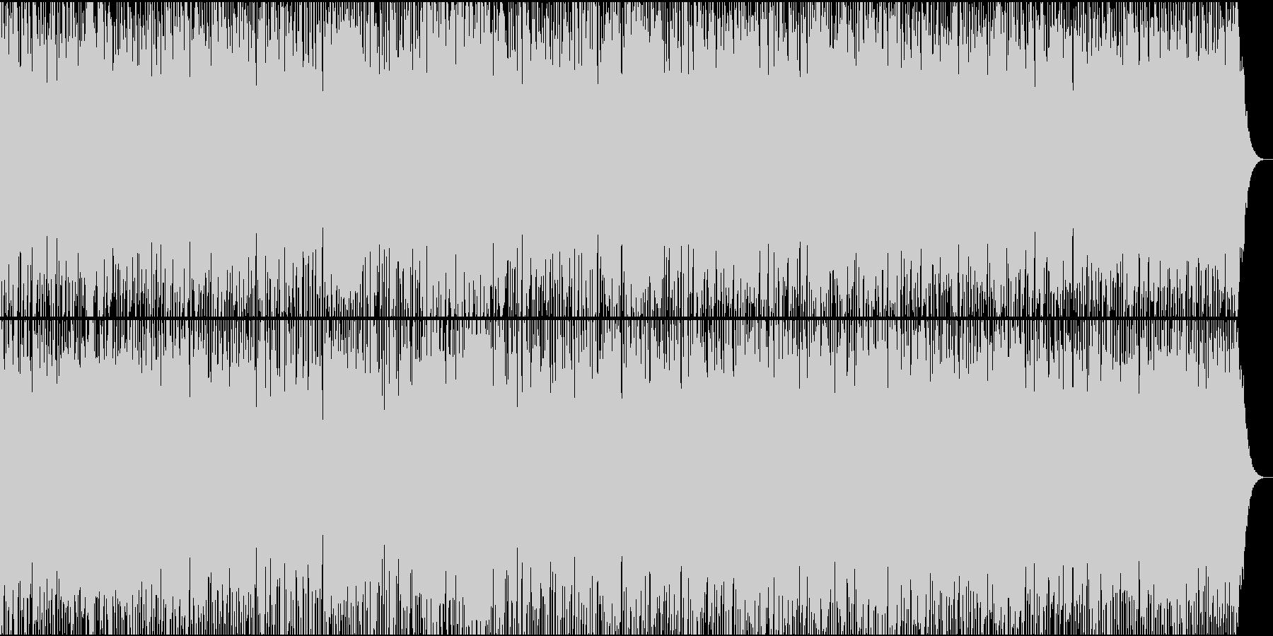 エレキギターのロカビリーの未再生の波形