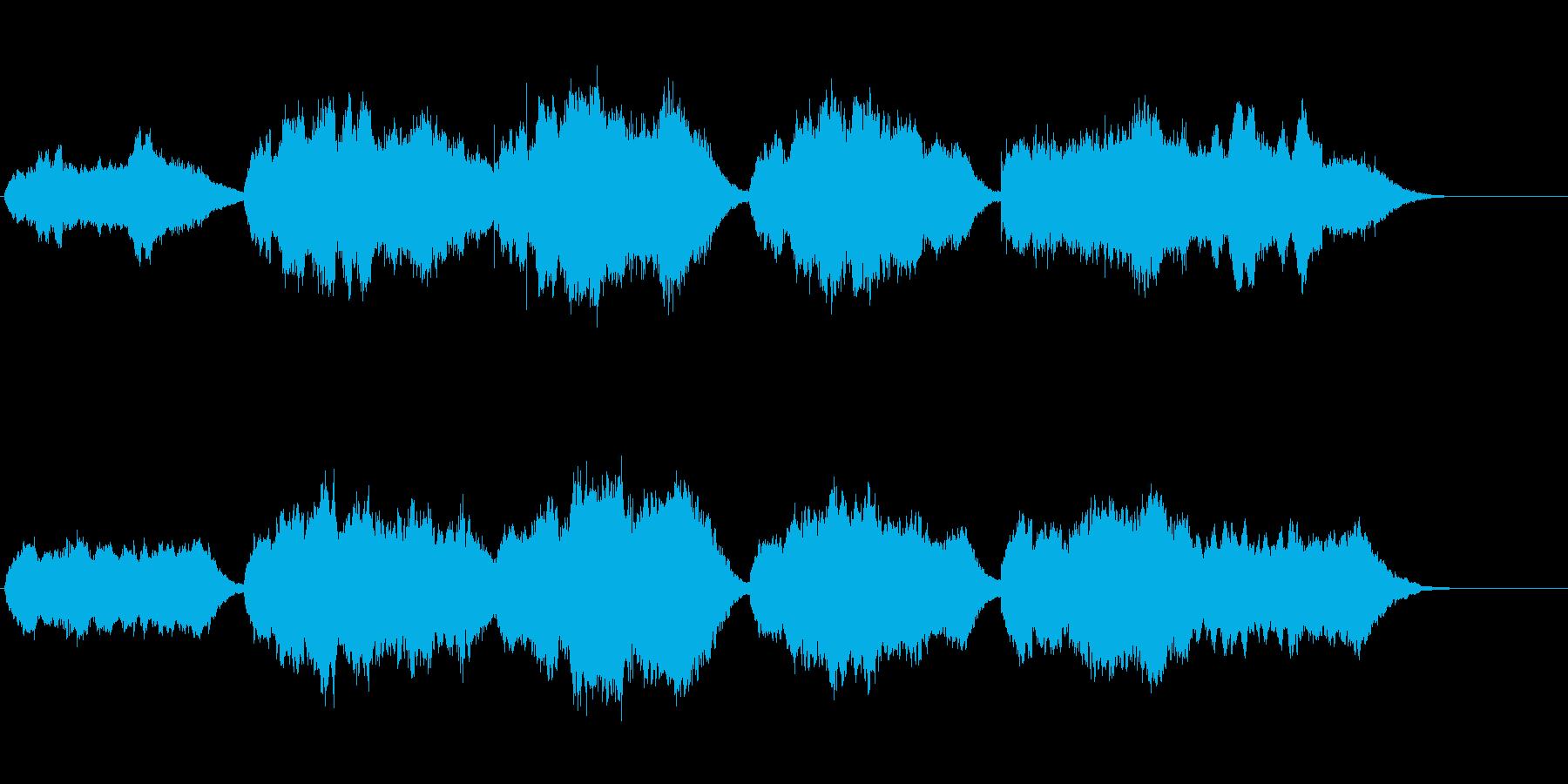 国歌「君が代」オーケストラの再生済みの波形