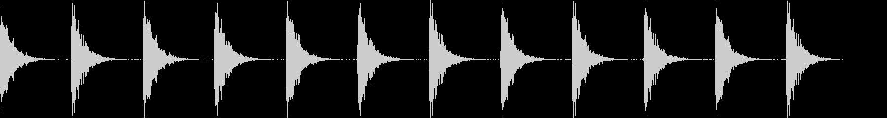 Kitchen ガスコンロの点火音 1の未再生の波形