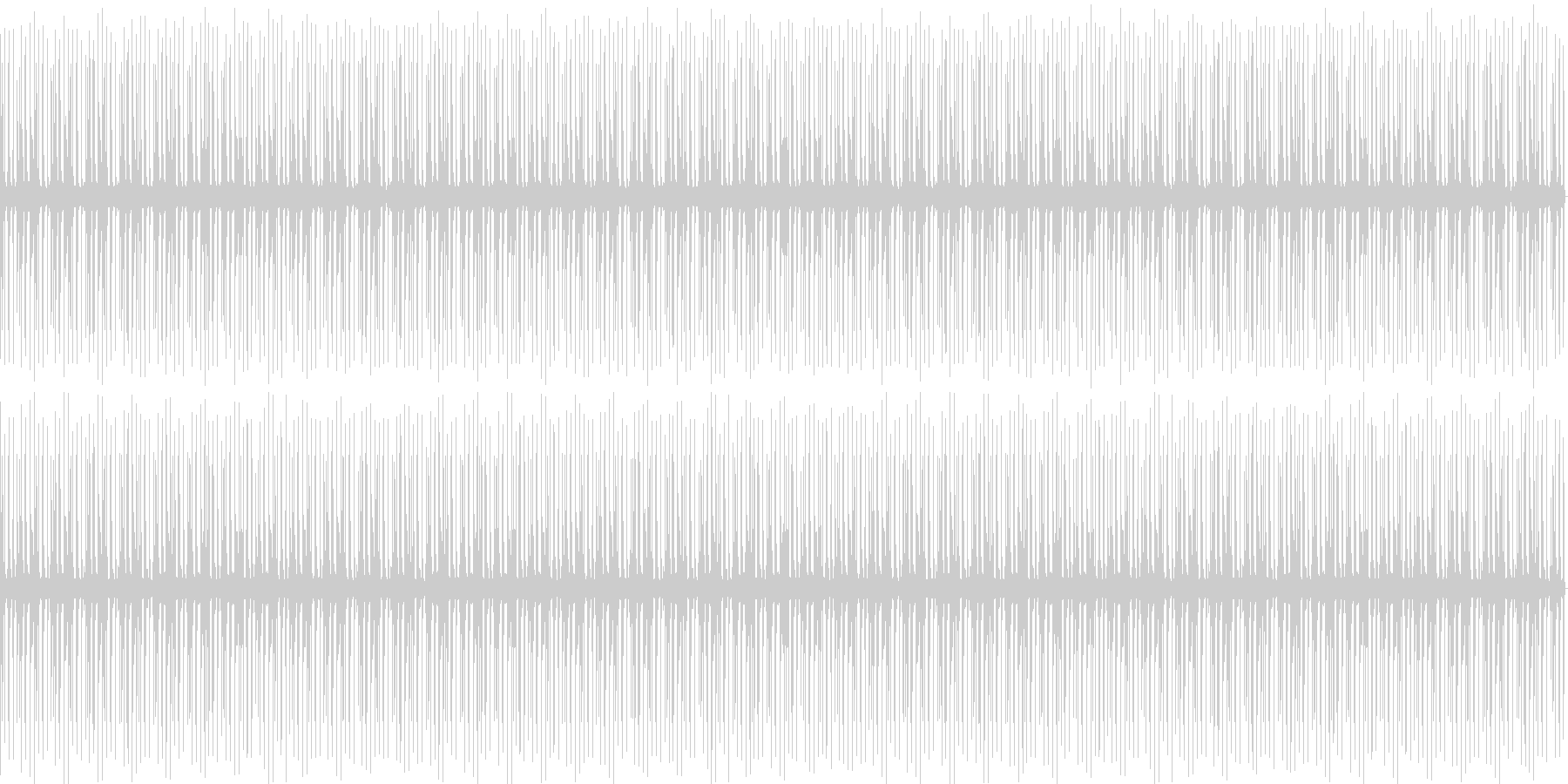 穏やかなHipHopビートの未再生の波形