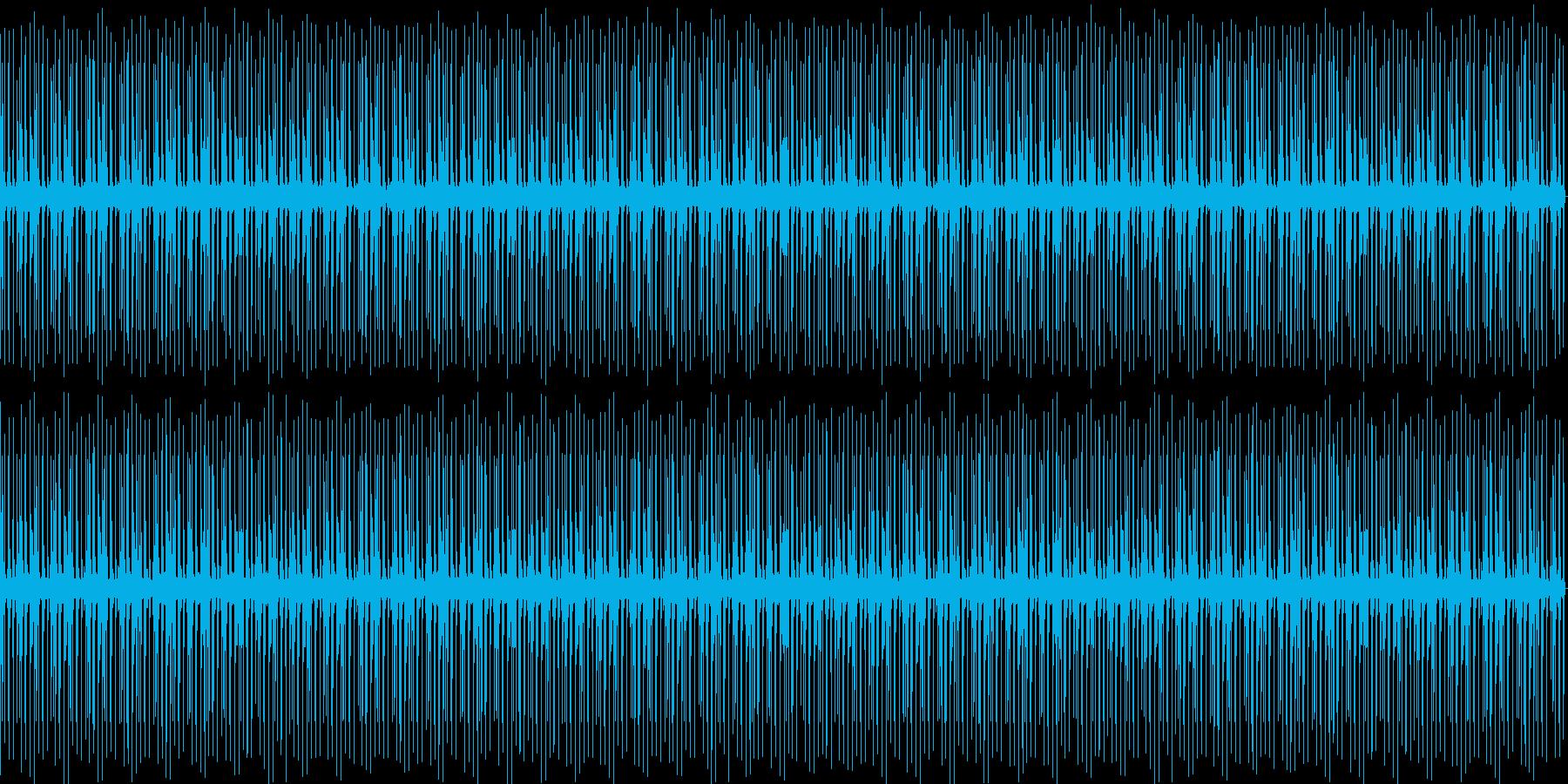 穏やかなHipHopビートの再生済みの波形