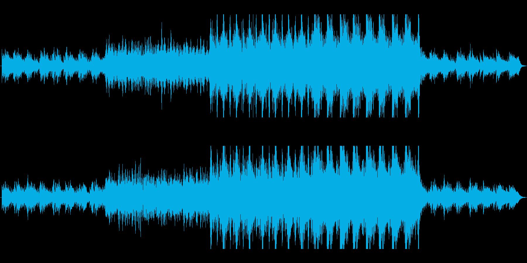 物語のオープニングに最適なBGMの再生済みの波形