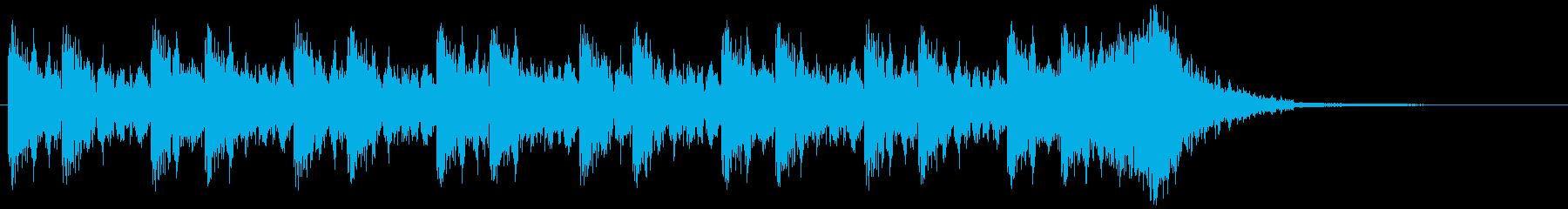 壮大/迫力/恐怖/ホラー/オーケストラの再生済みの波形