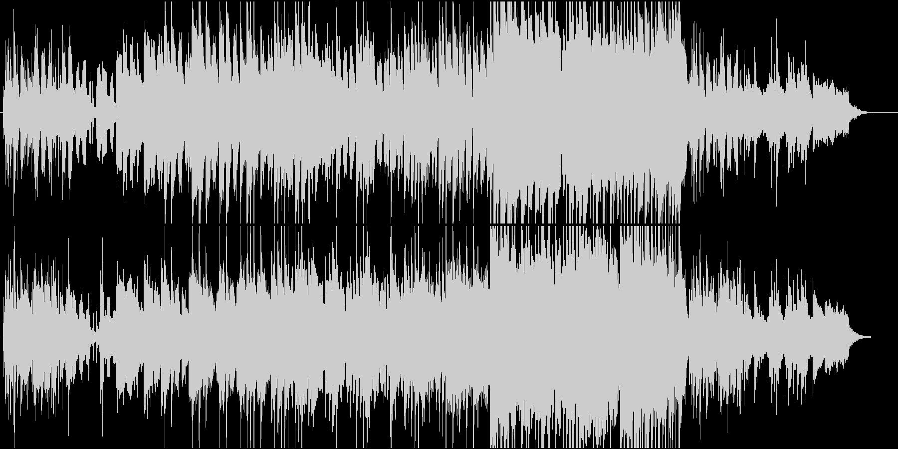 和風なポップの未再生の波形