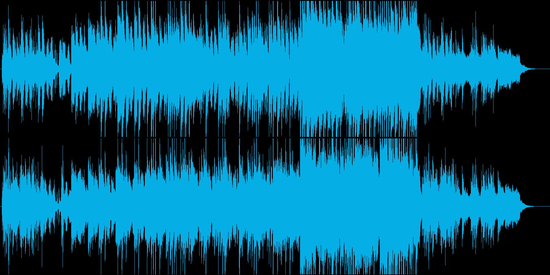 和風なポップの再生済みの波形
