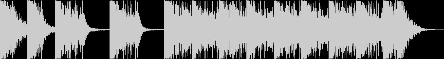 打楽器+打撃音 BPM=132の未再生の波形