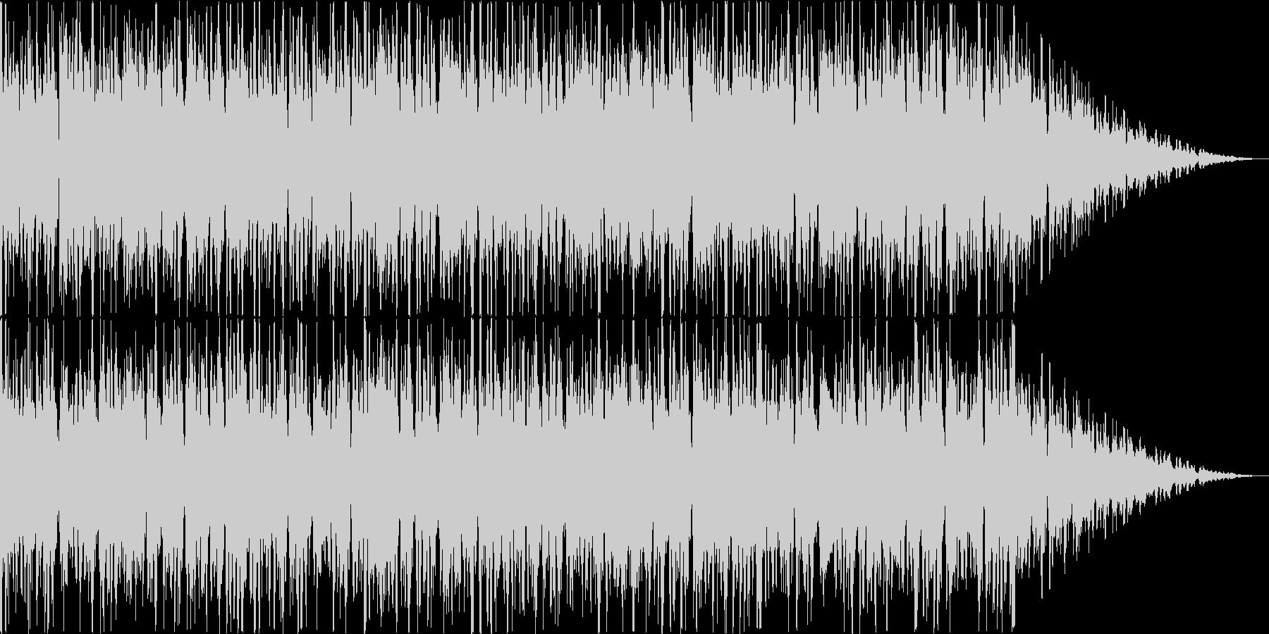 システムBGMのようなものです。の未再生の波形