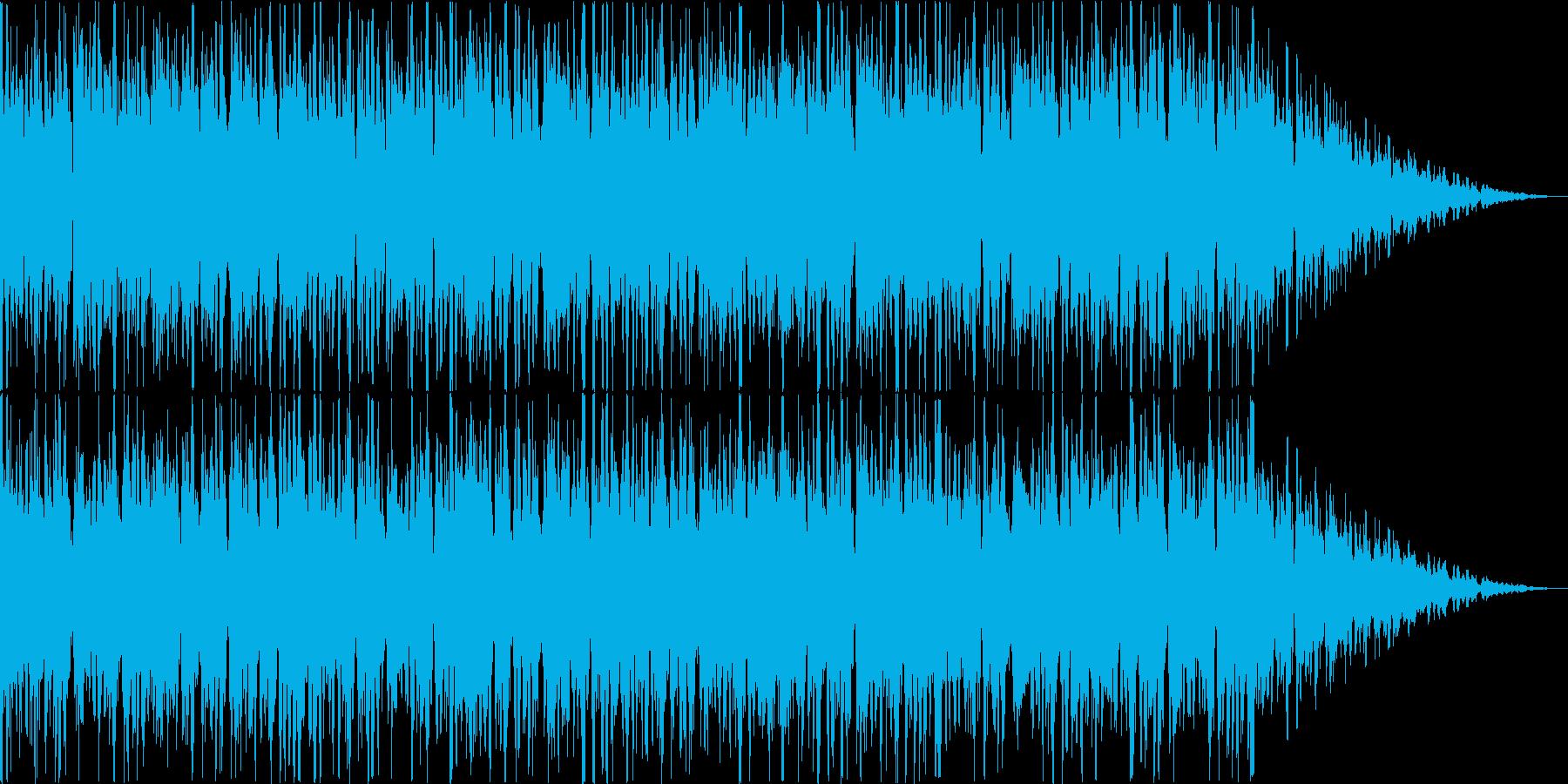 システムBGMのようなものです。の再生済みの波形