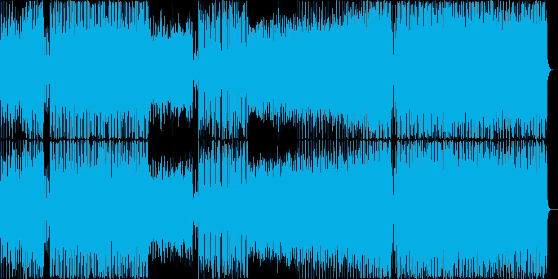 マシュメロ風FutureBass/EDMの再生済みの波形