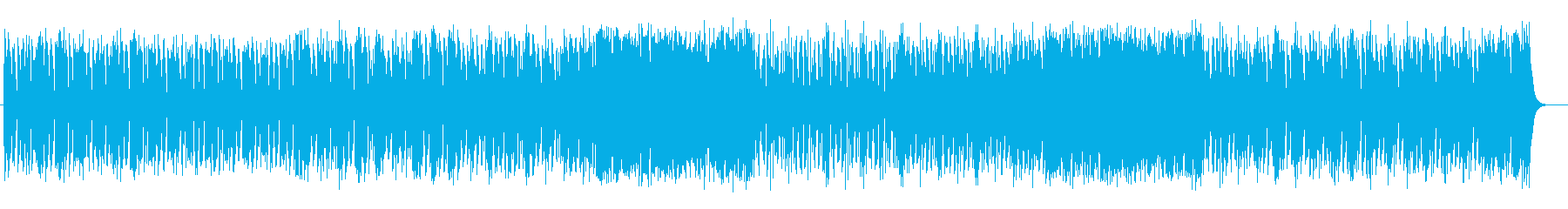 お洒落なピアノシンセの再生済みの波形