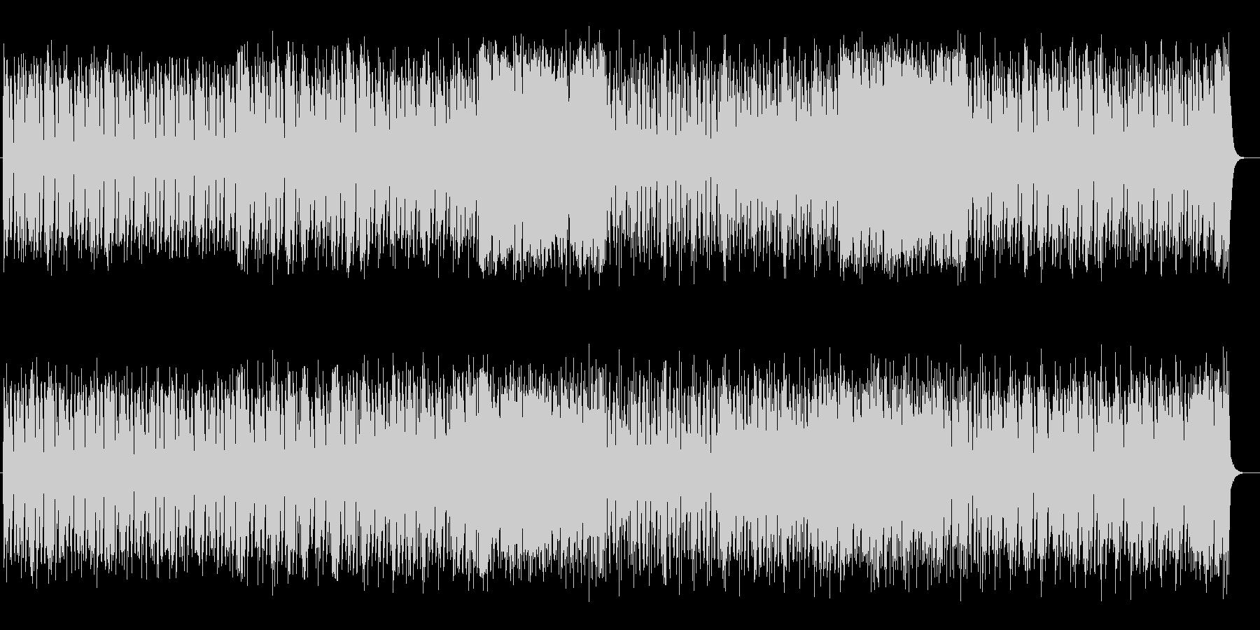 お洒落なピアノシンセの未再生の波形