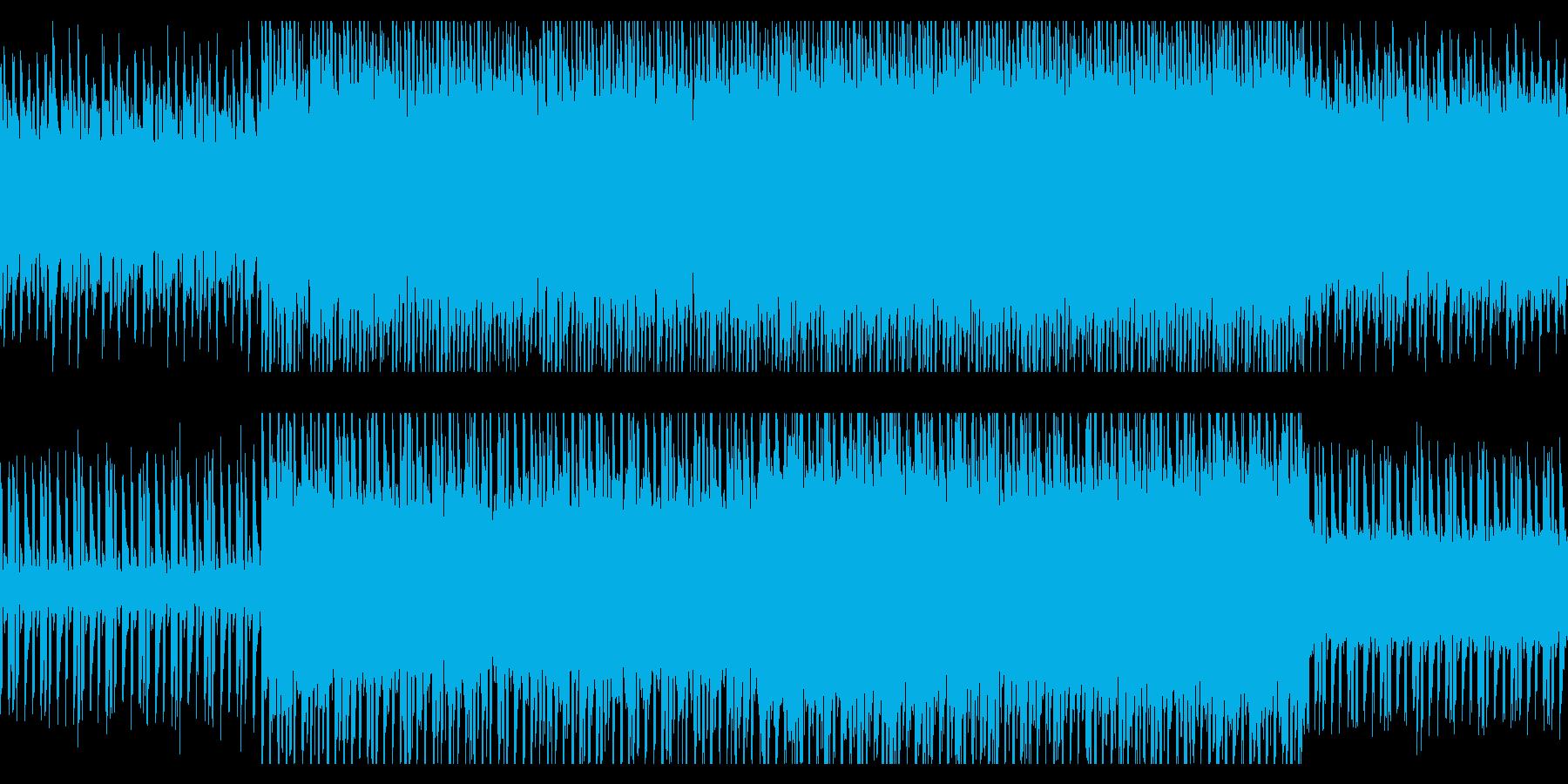 ゲーム向けチップチューンの再生済みの波形