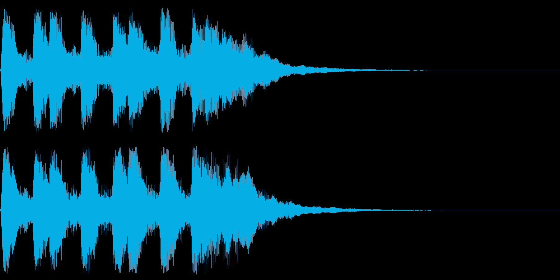 ゲームクリアのファンファーレ 勝利 栄光の再生済みの波形