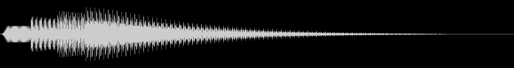 シンプルな通知音_03の未再生の波形