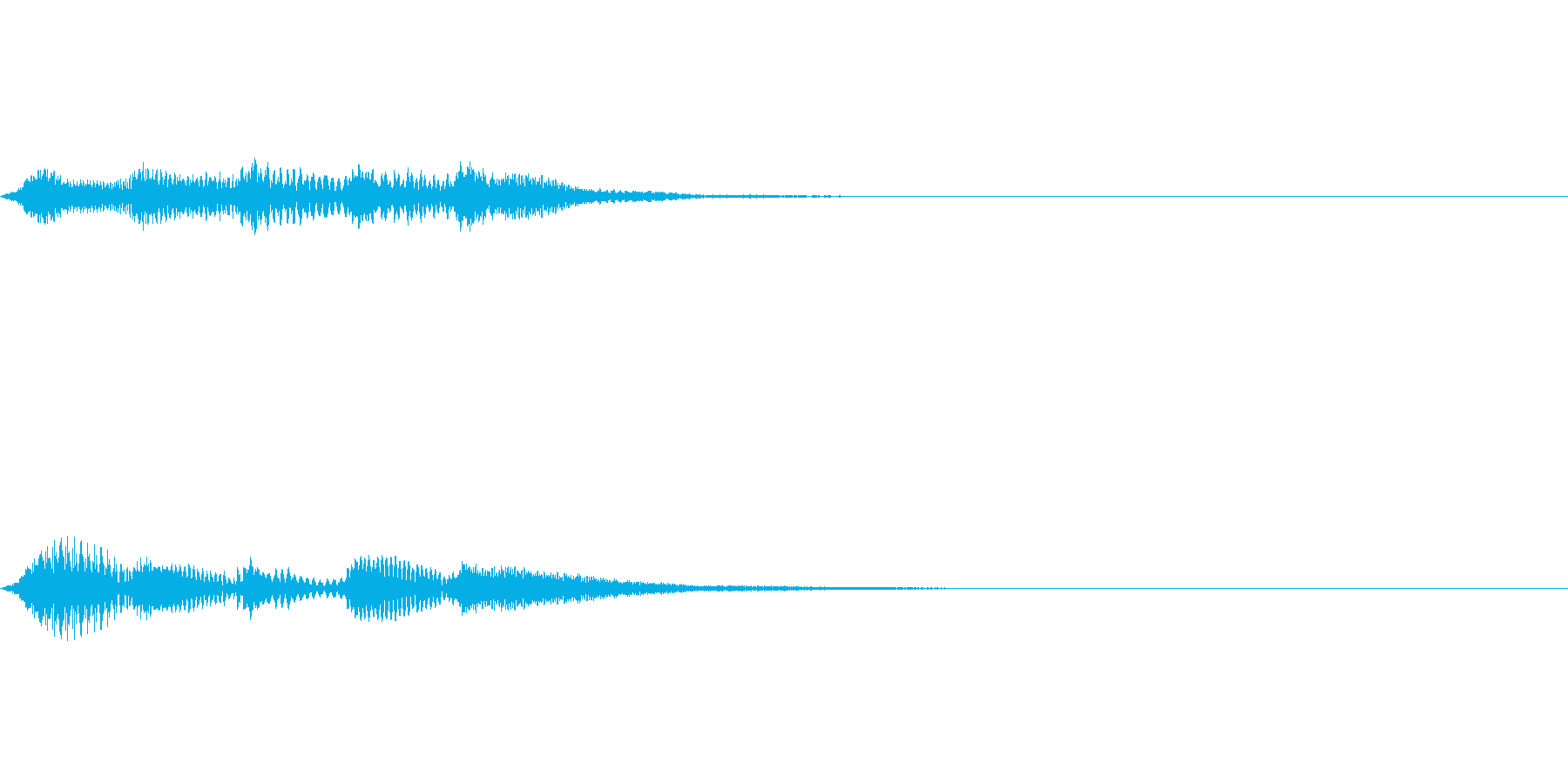 正解!の時のジングル その3の再生済みの波形