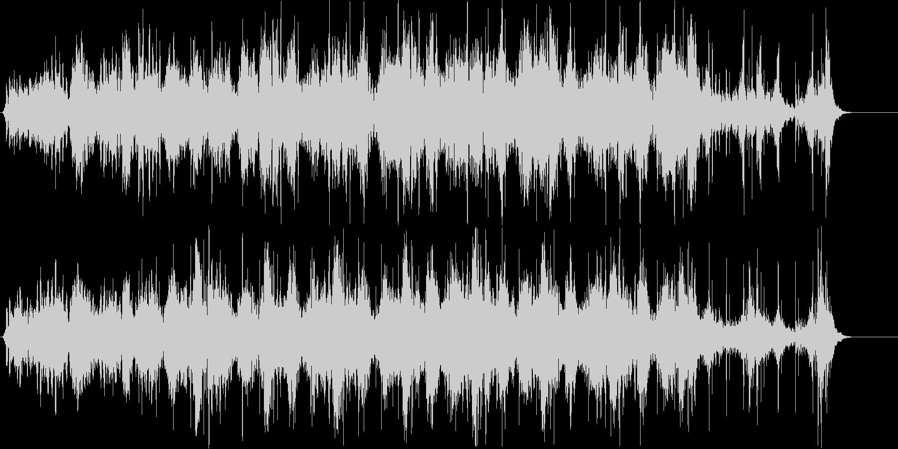 幻想的で近未来的、洗練された宇宙的な音。の未再生の波形