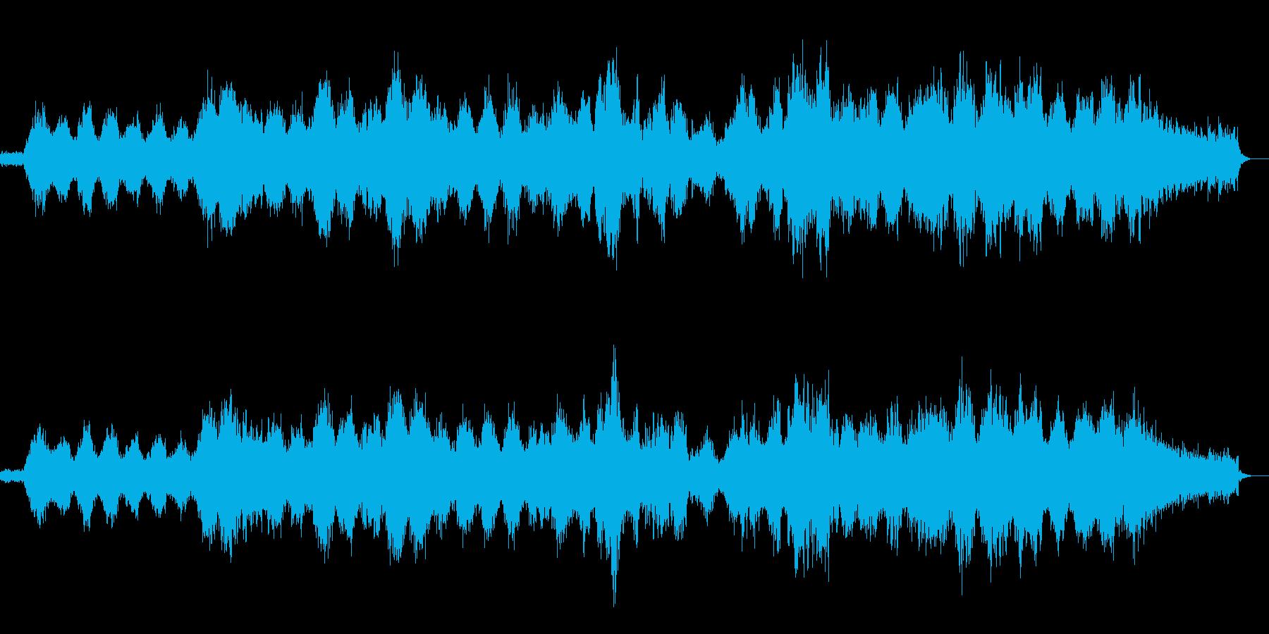 感動シーン1の再生済みの波形
