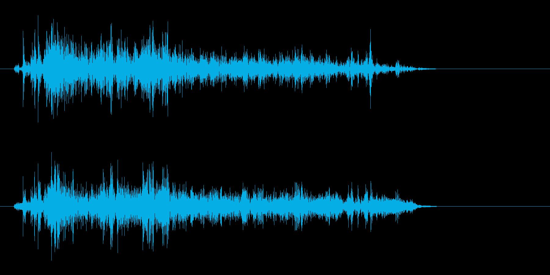 ガサーッ(物音)シンプルの再生済みの波形