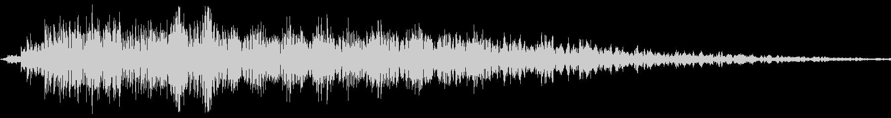 Animal アホなカラスの鳴き声SEの未再生の波形