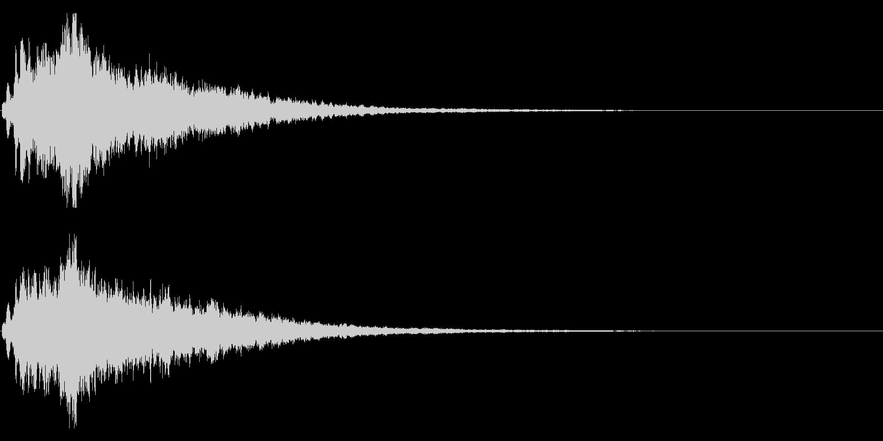 キラキラ♪クリア,達成,回復等に最適23の未再生の波形