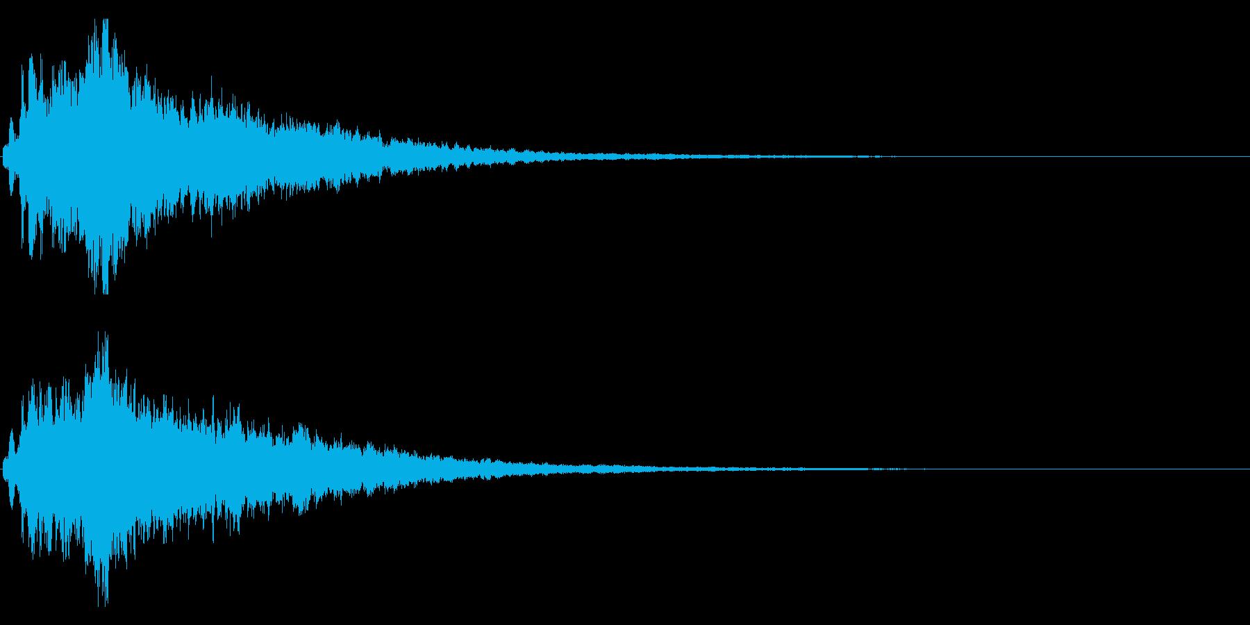 キラキラ♪クリア,達成,回復等に最適23の再生済みの波形