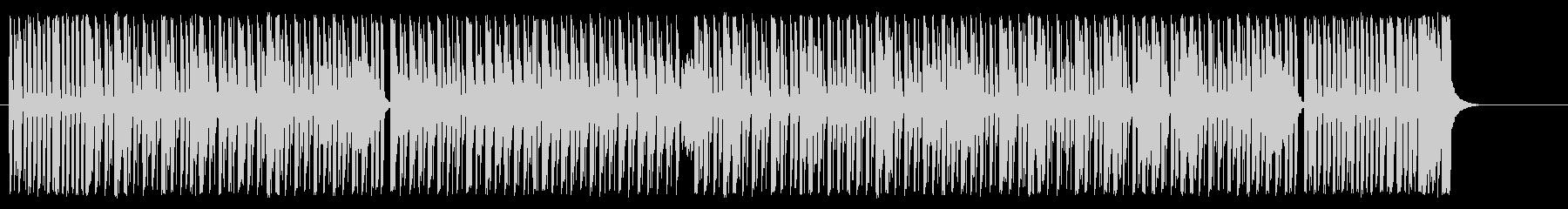 サーカスをイメージした楽しげなBGMの未再生の波形