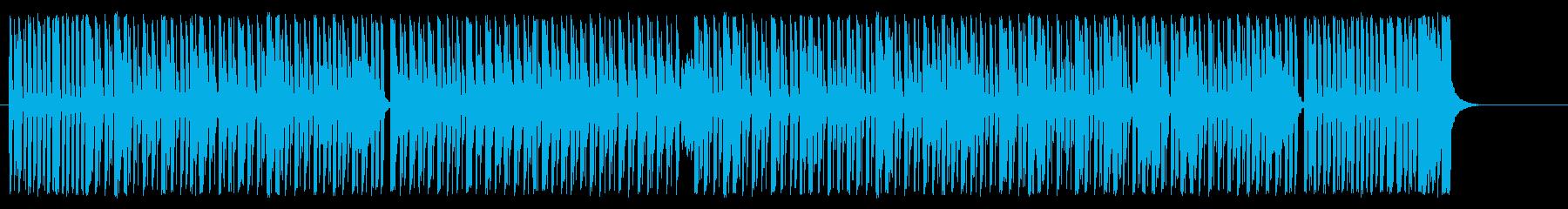 サーカスをイメージした楽しげなBGMの再生済みの波形