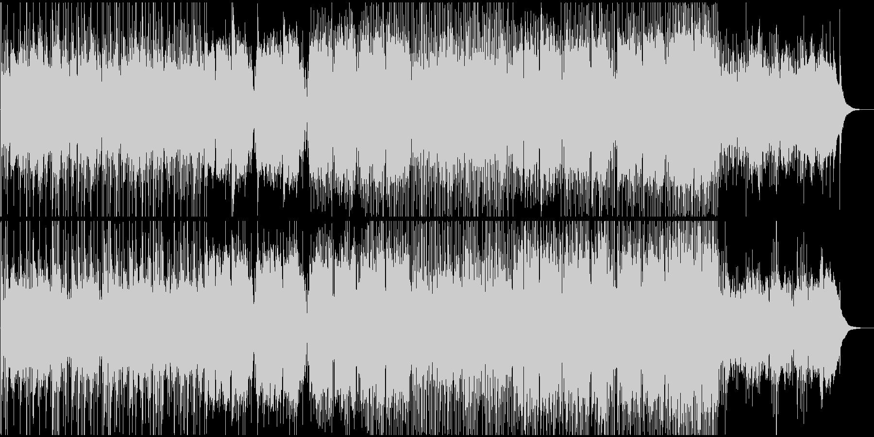 和風BGM 和の映像に合うバラード2の未再生の波形