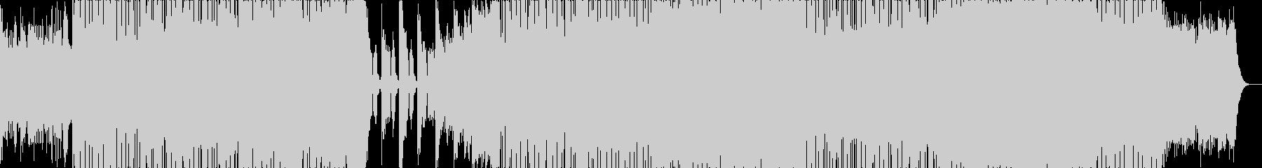 軽やかなビッグビート。の未再生の波形