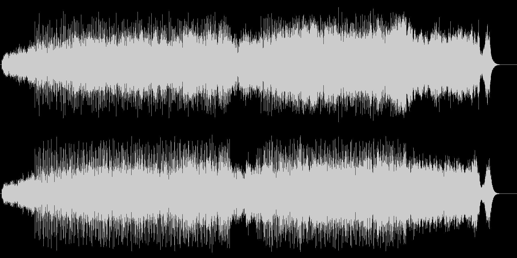バグパイプのポップアンサンブルの未再生の波形