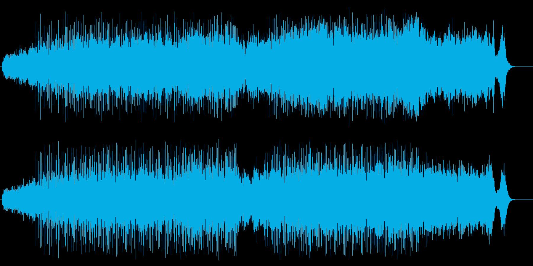 バグパイプのポップアンサンブルの再生済みの波形