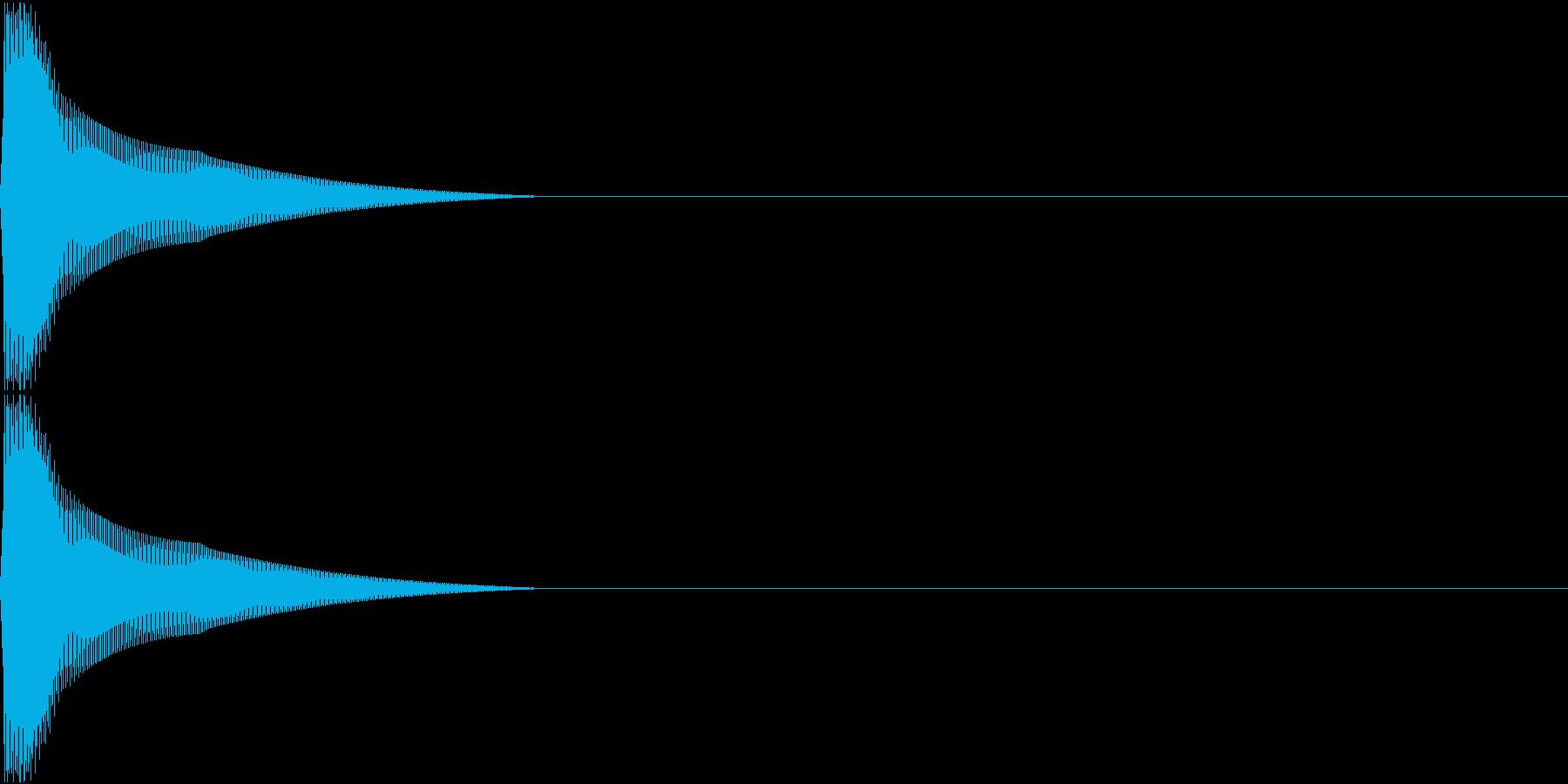 PureTouch アプリ用タッチ音 7の再生済みの波形