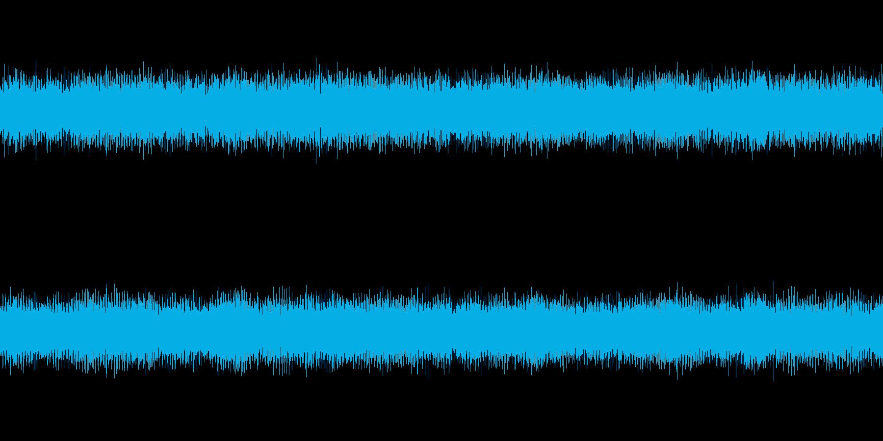 リズムもメロディーも無いノイズアンビエ…の再生済みの波形