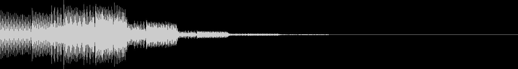 ピロロン(決定、アイテム選択)の未再生の波形