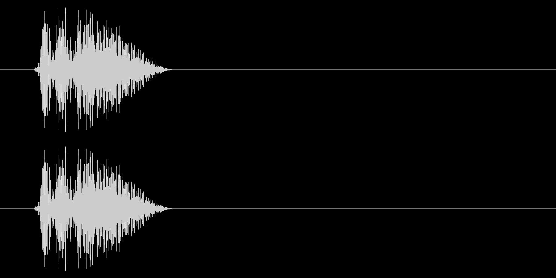 SNES 格闘06-03(ヒット)の未再生の波形