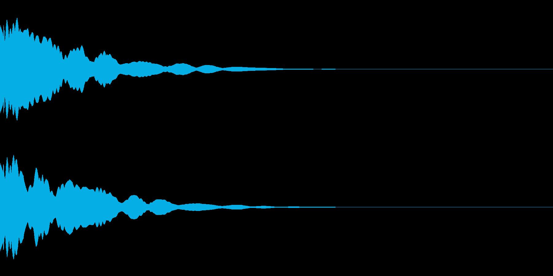 ベル/メタル/ヒット/システム/金属の再生済みの波形