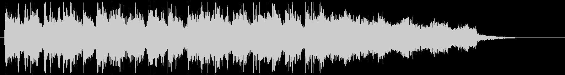 結果発表の未再生の波形