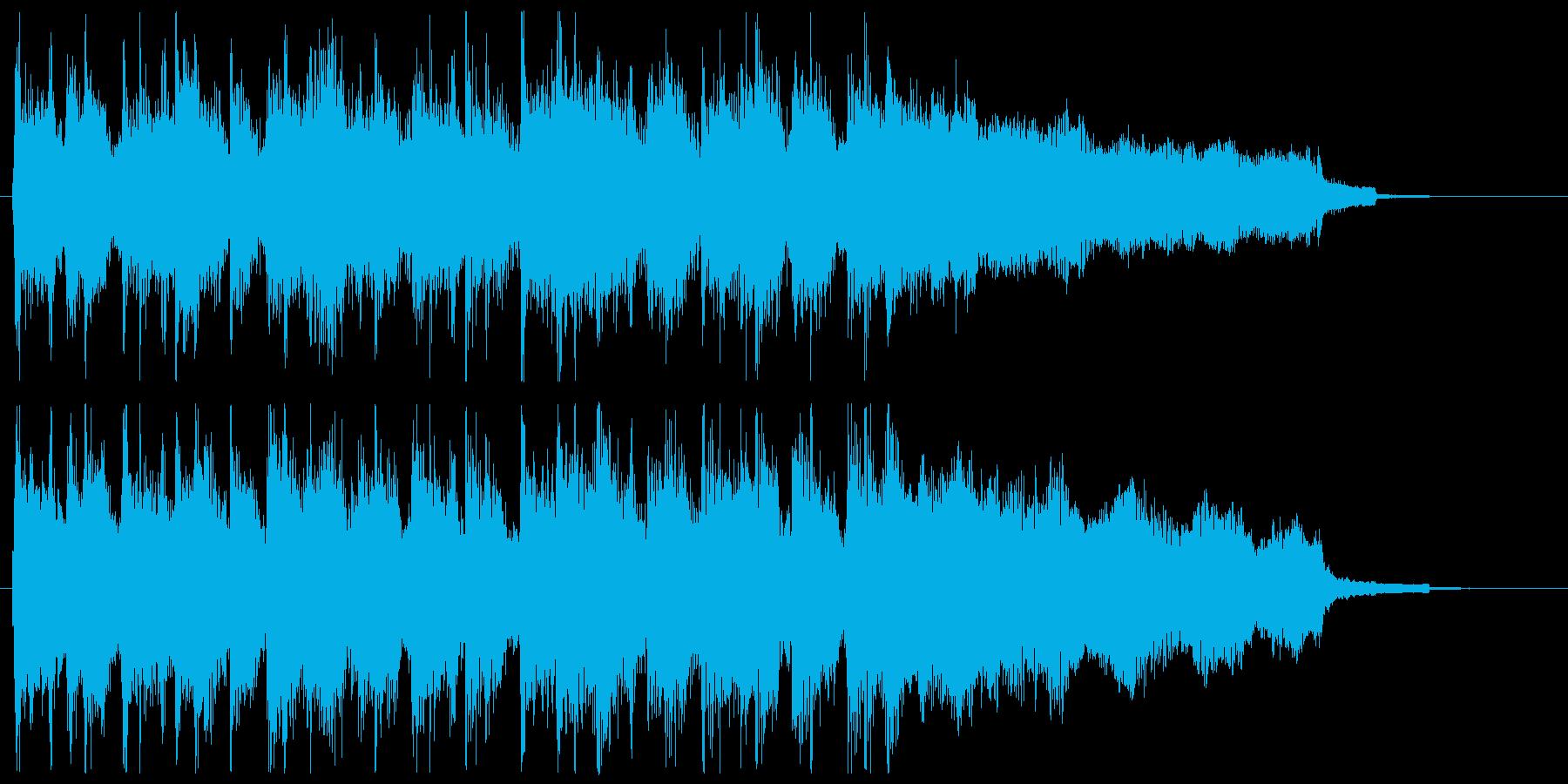 結果発表の再生済みの波形