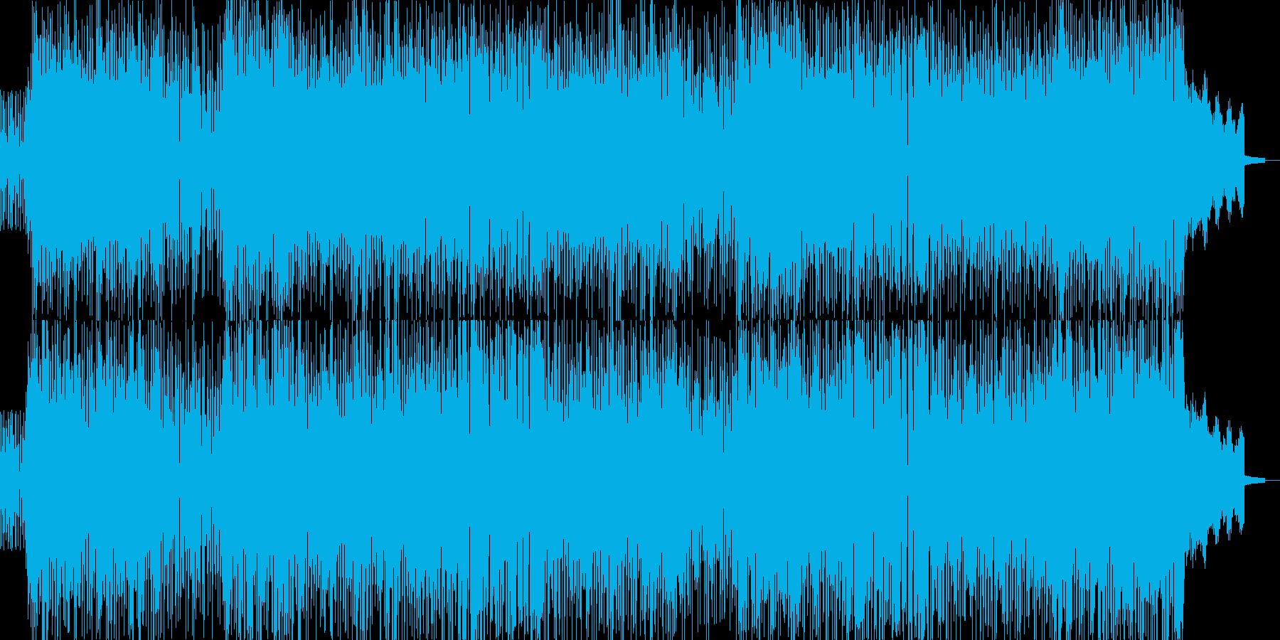 明るいパーティーファンクロック!の再生済みの波形