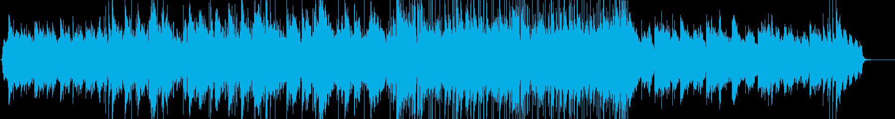 しっとりとして大人な雰囲気のバラードの再生済みの波形
