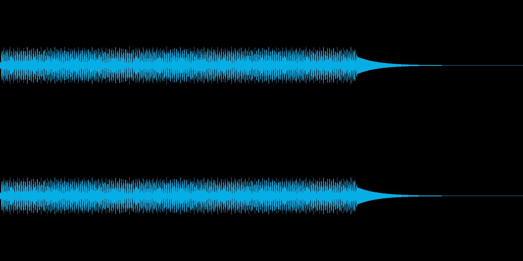 電話/ボタン/押す/プッ/タイプ2の再生済みの波形