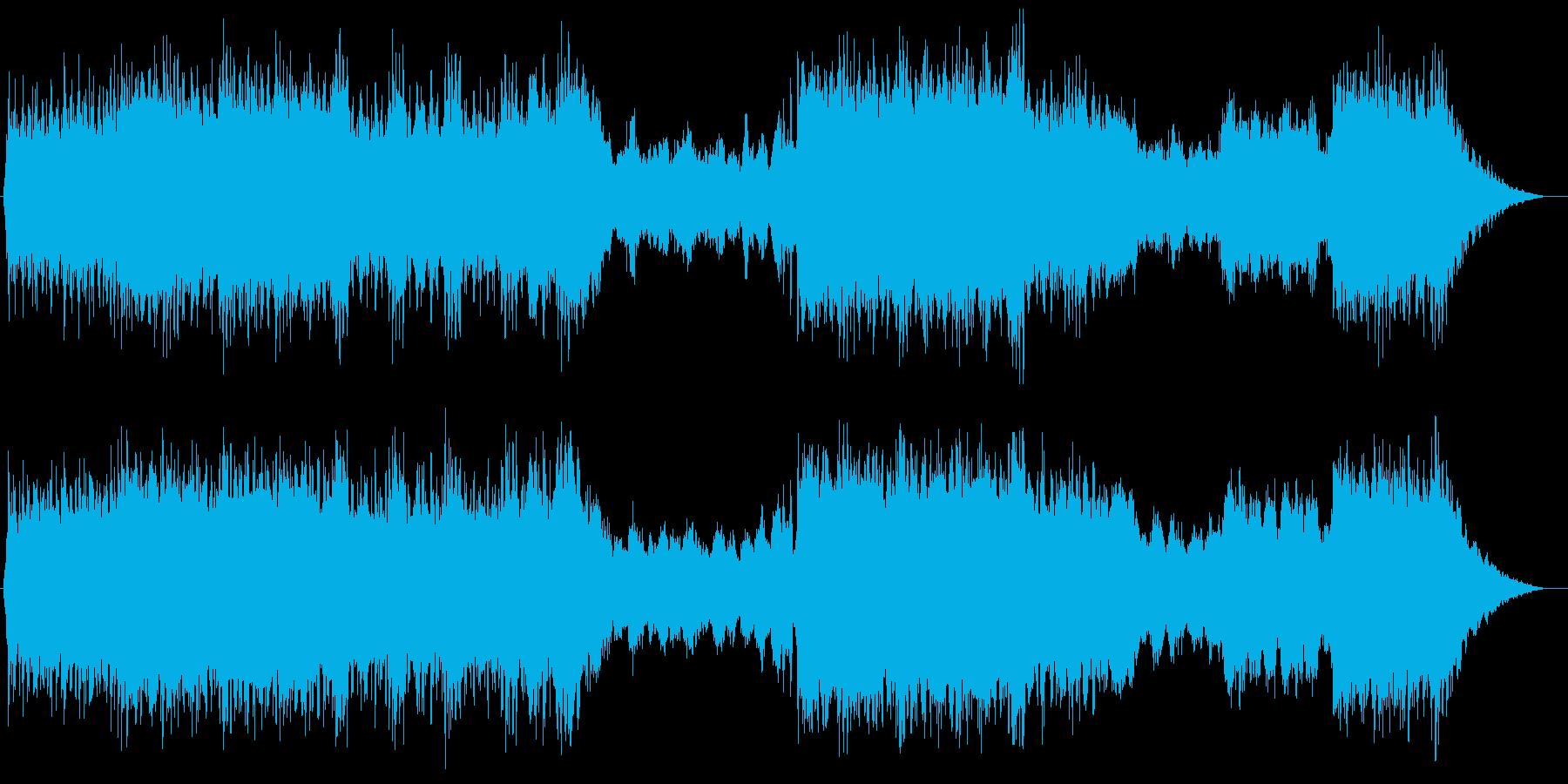 重く激しめなボス系オーケストラの再生済みの波形