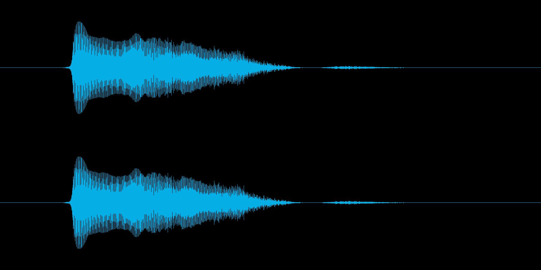 ふわぁっ!の再生済みの波形