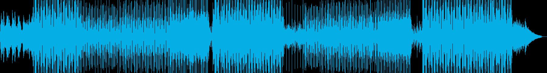 倦怠感が漂うようになったR&Bの再生済みの波形