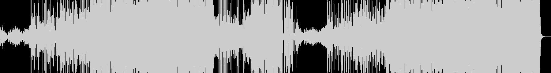 サルサっぽいピアノのラテンダンスBGMの未再生の波形