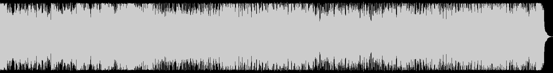 魔の領域 ホラー風なメタル戦闘曲 背景曲の未再生の波形