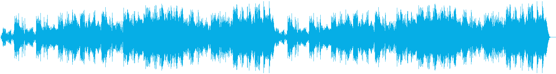 映画のエンディングのようなしっとり曲の再生済みの波形