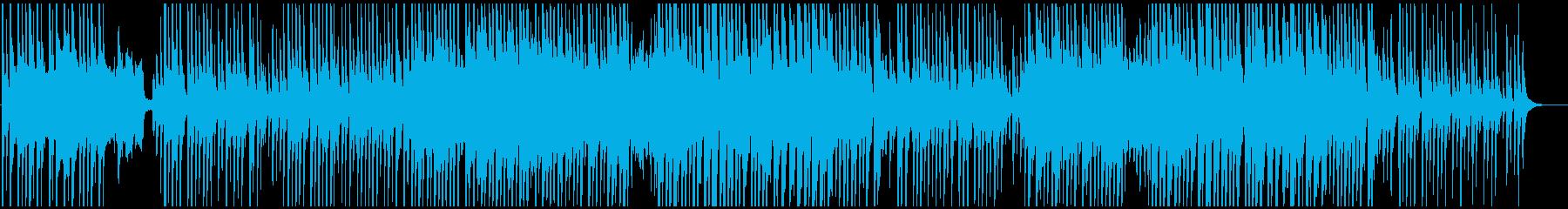 和風沖縄民謡風 三線でどこか懐かしいの再生済みの波形