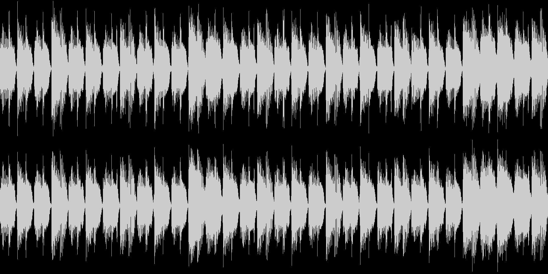 きらびやかなリードの未再生の波形