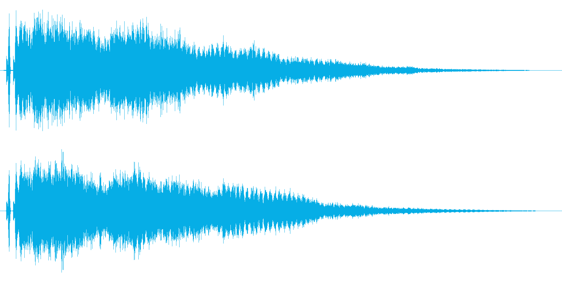 キラキラ♪星や光,魔法,場面転換に最適1の再生済みの波形